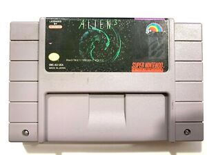 ALIEN-3-SUPER-NINTENDO-SNES-GAME-Tested-Working-amp-Authentic