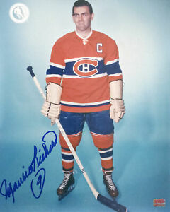 Autographed Maurice Richard 8x10 Pose Photo - Montreal Canadiens