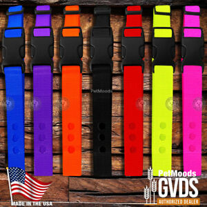 GVDS-Dog-Collar-Strap-1-034-Replacement-Strap-for-SportDOG-In-Ground-Fence-SDF-R