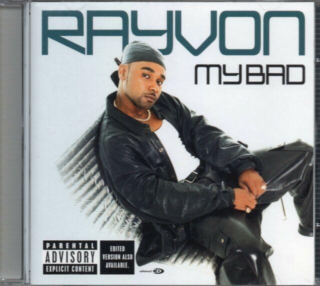 Rayvon - My Bad (2002 CD) Explicit Version (New & Sealed)