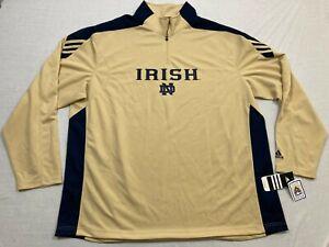 barajar compresión objetivo  M89 rara Adidas scortch Notre Dame Irish entrenadores Sudadera Camiseta  para hombre 3XL | eBay