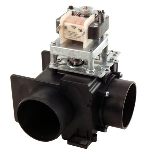 G338129 Continental Girbau Drain Valve w//o overflow 230V 50//60HZ 3 inch 90°