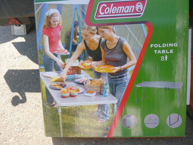 Coleman Folding Table Campingtisch für 8 Personen