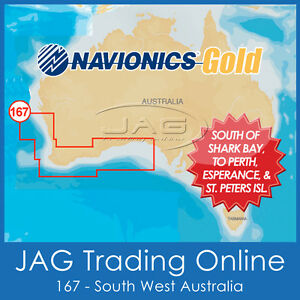 NAVIONICS GOLD SMALL CARD - 8G167S SOUTH WEST AUSTRALIA - GPS MAP CHART