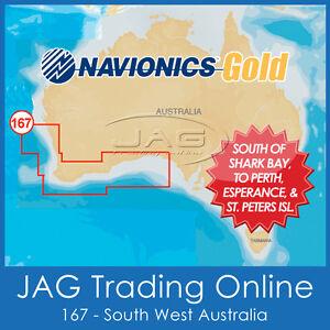 NAVIONICS GOLD SMALL CHART - 8G167S SOUTH WEST AUSTRALIA - GPS MAP SD/MICRO CARD