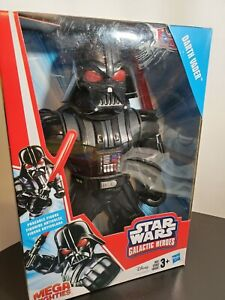 Star Wars Galactic Heroes Mega Mighties Darth Vader 10-Inch Action Figure