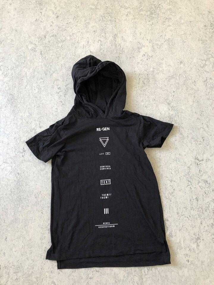 T-shirt, Hætte t-shirt, Ren-gen