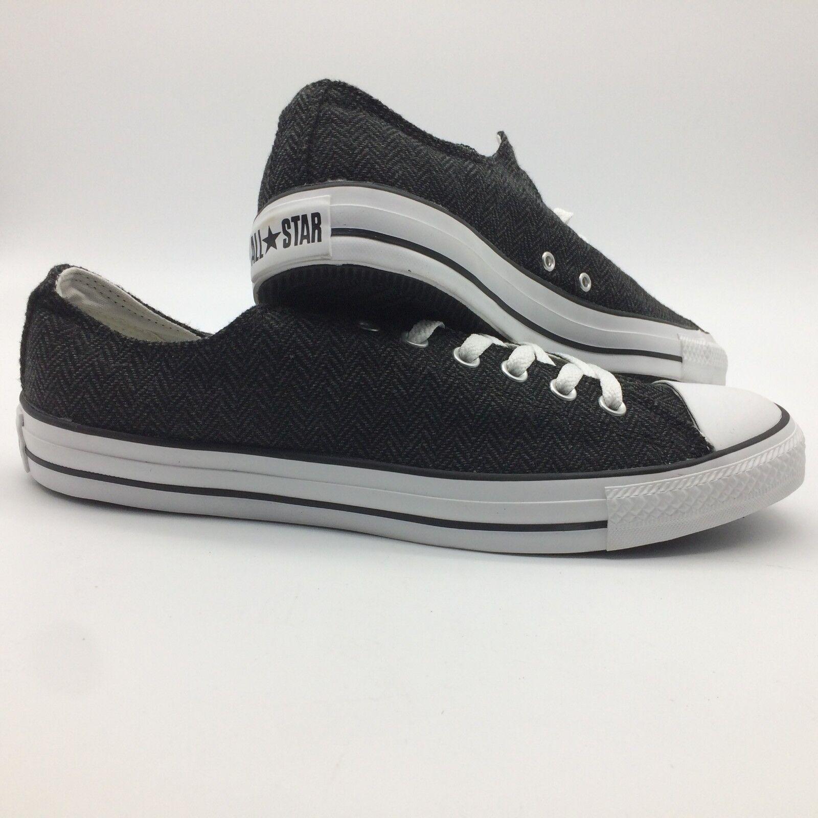Converse Men's shoes's Ct As Ox Black Black