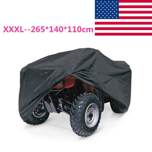 US XXXL ATV Outdoor Weatherproof Cover For Kawasaki Prairie 300 360 400 650 700