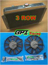 aluminum radiator for HOLDEN Gemini TX TC TD TE TF TG RB 1975-1986 Manual + FANS