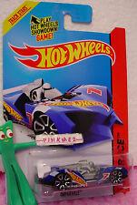 Case K/L 2014 i Hot Wheels IMPARABLE #149 ~Racing Blue; Gray Driver;7~Race Team