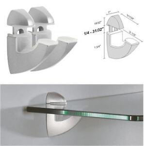 Dolle-SCOOP-Silver-Adjustable-Glass-Shelf-Brackets-Pair