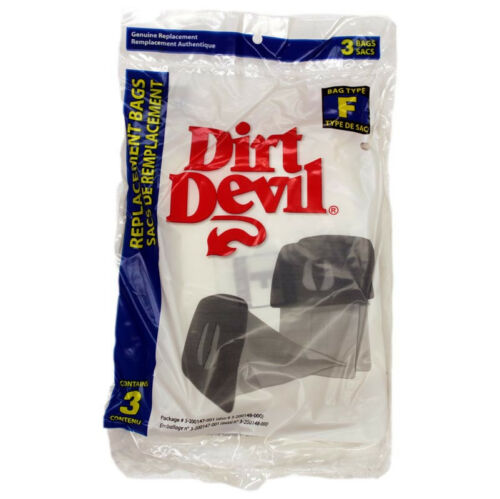 Genuine Dirt Devil Type F Vacuum Bags  # 3200348001 3300475001