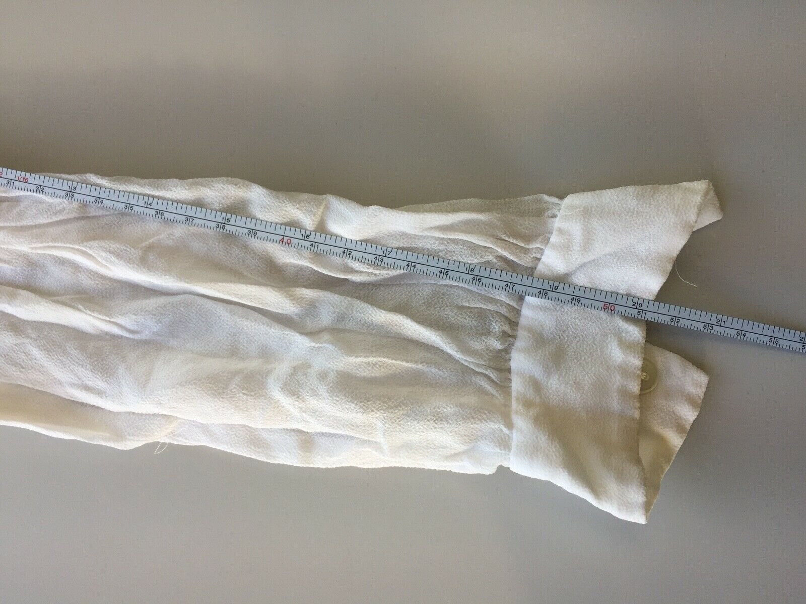 Vtg Hungarian Blouse S Embroidered Hand Made Hung… - image 9