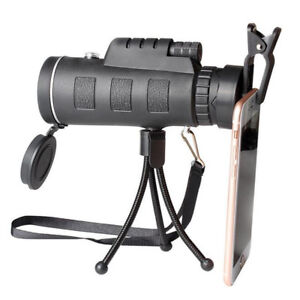 Mini-Monocular-HD-Scope-Telescope-w-Compass-40x60Camping-Outdoor-For-iPhone-8-X