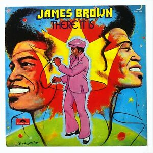 JAMES BROWN THERE IT IS LP POLYDOR 2391 033 R&B FUNK 1972 NMM