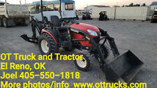 2017 Yanmar 4wd Sa424 424 Compact Front End Loader Tractor Backhoe 23hp