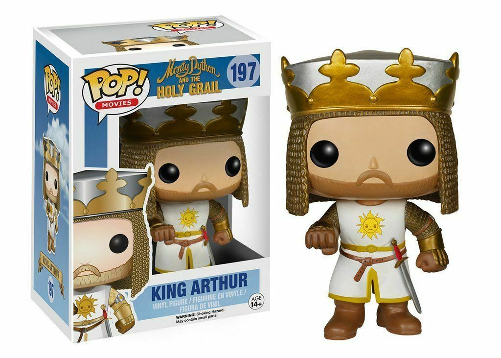 Figurine Funko POP  Movies Monty Python and the Holy Grail 197 King Arthur