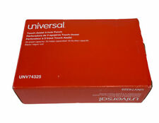 Universal 30 Sheet Three Hole Touch Assist Punch Black Unv74325