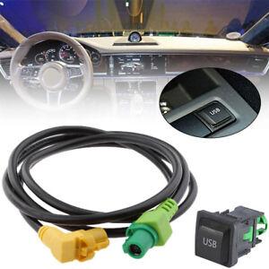 Details about Car USB Interface Aux-in Adapter Fits VW Jetta/GLI MK5 05-13  Golf/GTI/R MK5 MK6