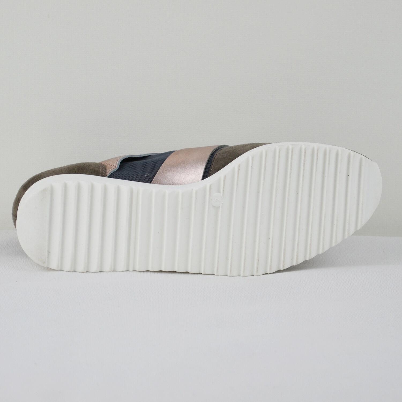 HÖGL Damen Sneaker 3-10 3-10 Sneaker 3317 Leder und Synthetik Anthrazit Gr. 36-41 Neu edd8c0