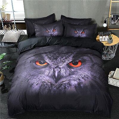 New Bedding Quilt Cover Pillowcase HD 3D Fashion Print Print Animal Bedding Set