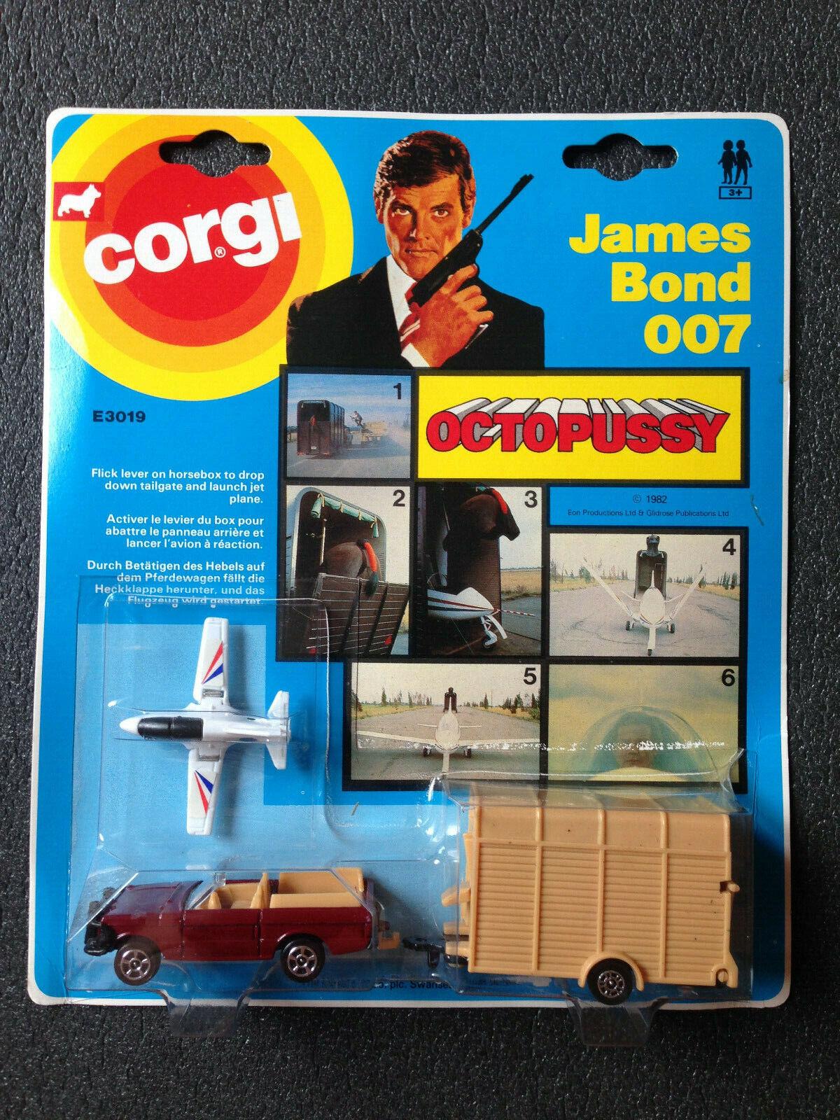 Range Rover James Bond 007 Octopussy vintage Corgi juniors e3019 New nuevo en OVP