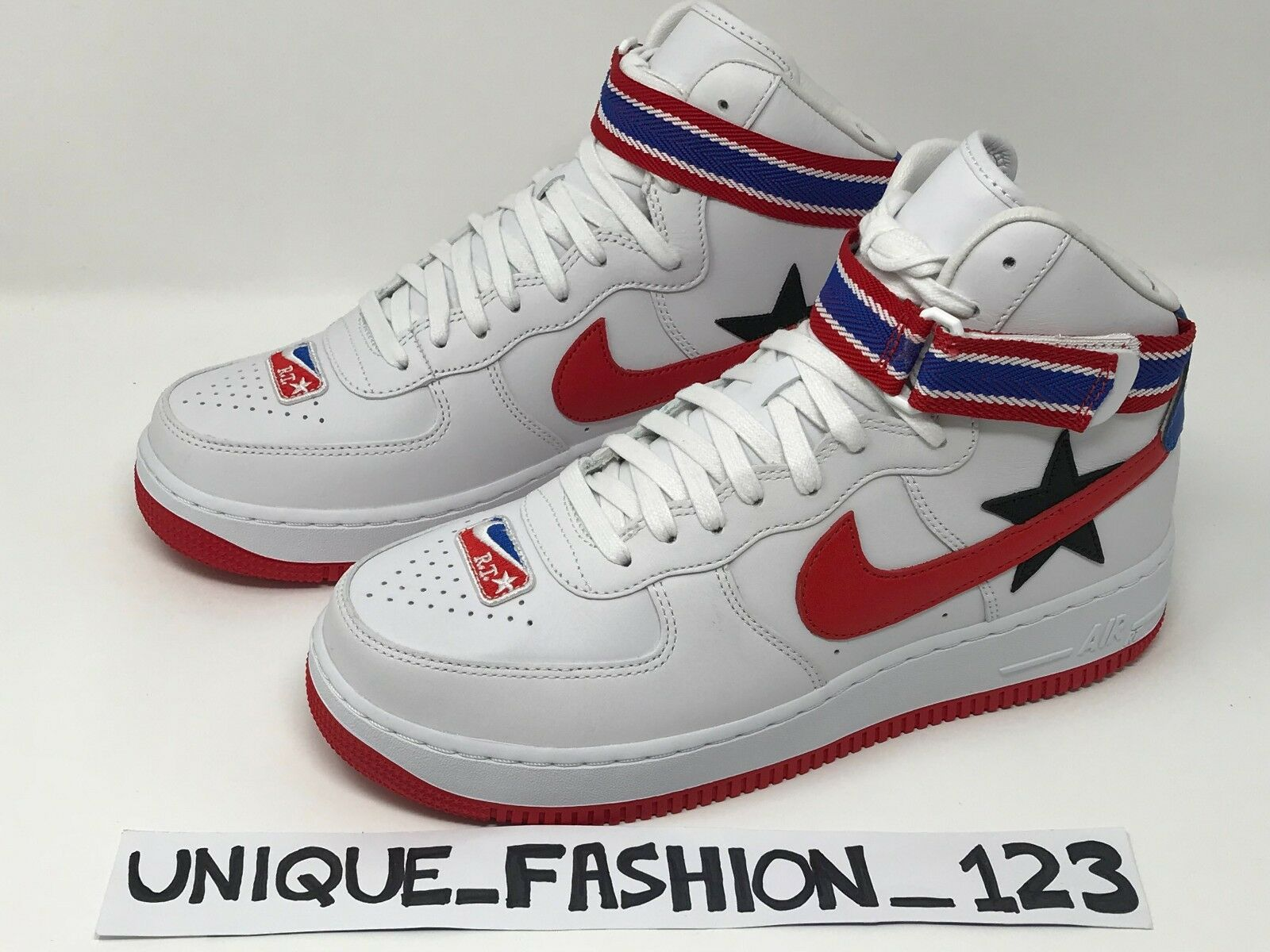 NIKE AIR FORCE 1 HI X RICCARDO TISCI RT 6 7 8 9 10 11 12 AQ3366-100 WHITE RED