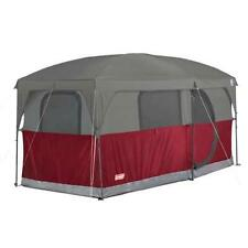 COLEMAN Hampton 6 Person Family Camping Cabin Tent W/ WeatherTec | 13u0027 X 7