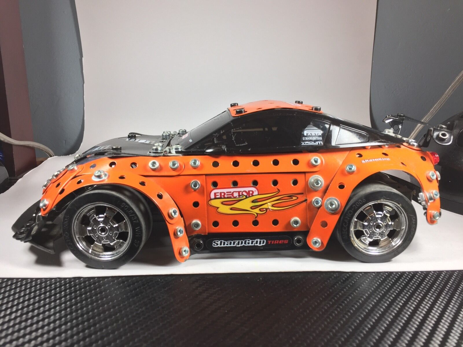 Erector Meccano Turbo RC Pro Car Car Car b9b46d