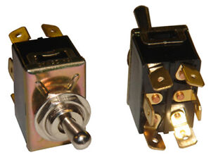 Details about 6 Prong Toggle Switch for Septic Control Panel and Alarm  (Mute/Test/Run)
