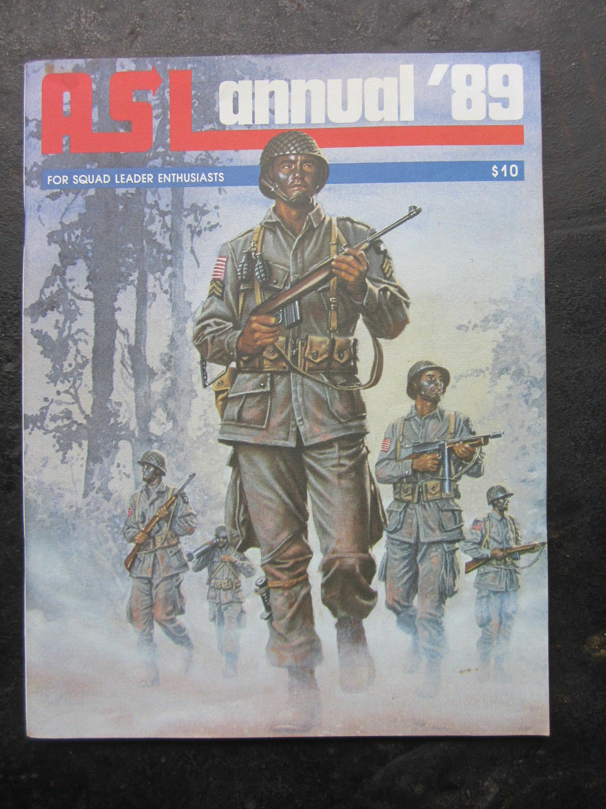 ASL ANNUAL '89 - FOR SQUAD LEADER ENTHUSIASTS - MINT SLIGHT SHELF WEAR - H