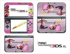 SKIN STICKER AUTOCOLLANT - NINTENDO NEW 3DS XL - REF 150 MARIO KART 7