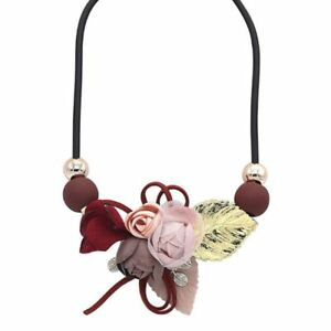 Women-Bib-Flower-Crystal-Pendant-Statement-Chain-Chunky-Choker-Necklace-Fashion
