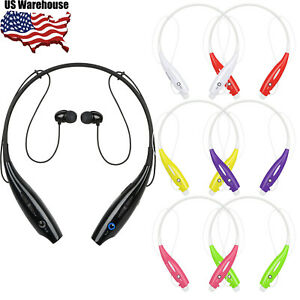 Wireless-Headset-Stereo-Neckband-Headphone-Earphone-Sport-Handfree-Universal