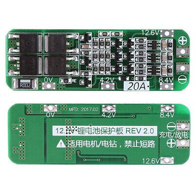 18650 25A lithium battery protection board 11.1V 12.6VB MS PCB X1O3