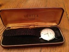 Vintage Gents Vertex In Original Box mens  wrist watch