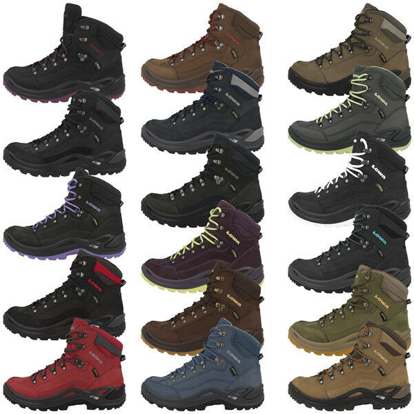 LOWA RENEGADE GTX MID WOMEN GORE-TEX DAMEN OUTDOOR SCHUHE HIKING TREKKING BOOTS