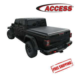 Fit For 2020 Jeep Gladiator LiteRider Soft Roll Up Tonneau Cover