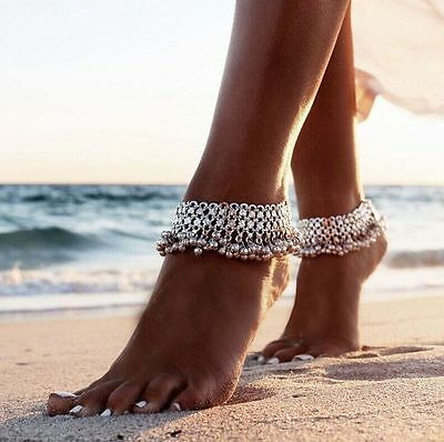 New Fashion Sexy Silver Anklet Chain Ankle Bracelet Foot Jewelry Barefoot Sandal