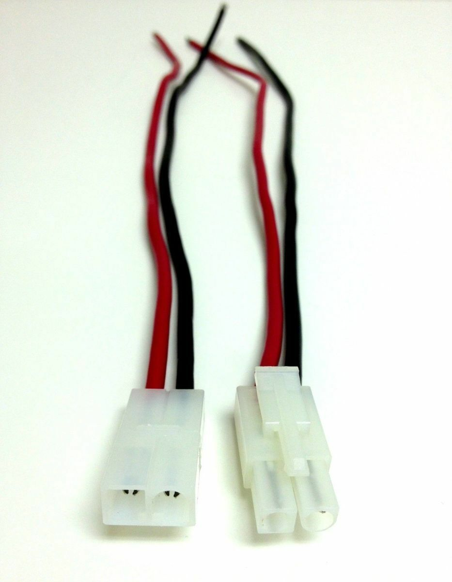 14 Gauge 2 Pin Male Female Quick Disconnect Polarized Wire Automotive For Sale Online