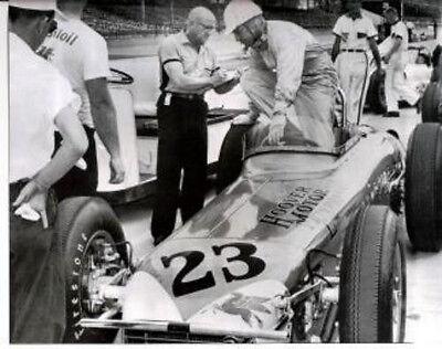 TONY BETTENHAUSEN MAY 10 1961 INDY 500 8 X 10 PHOTO