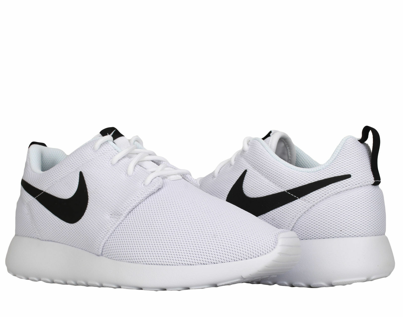 Wouomo Nike Roshe One Lifestyle bianca nero Dimensiones 6-10 New In Box 844994-101