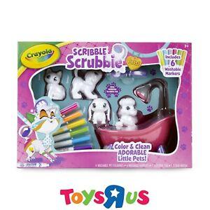 Crayola Scribble Scrubbies Pets Playset