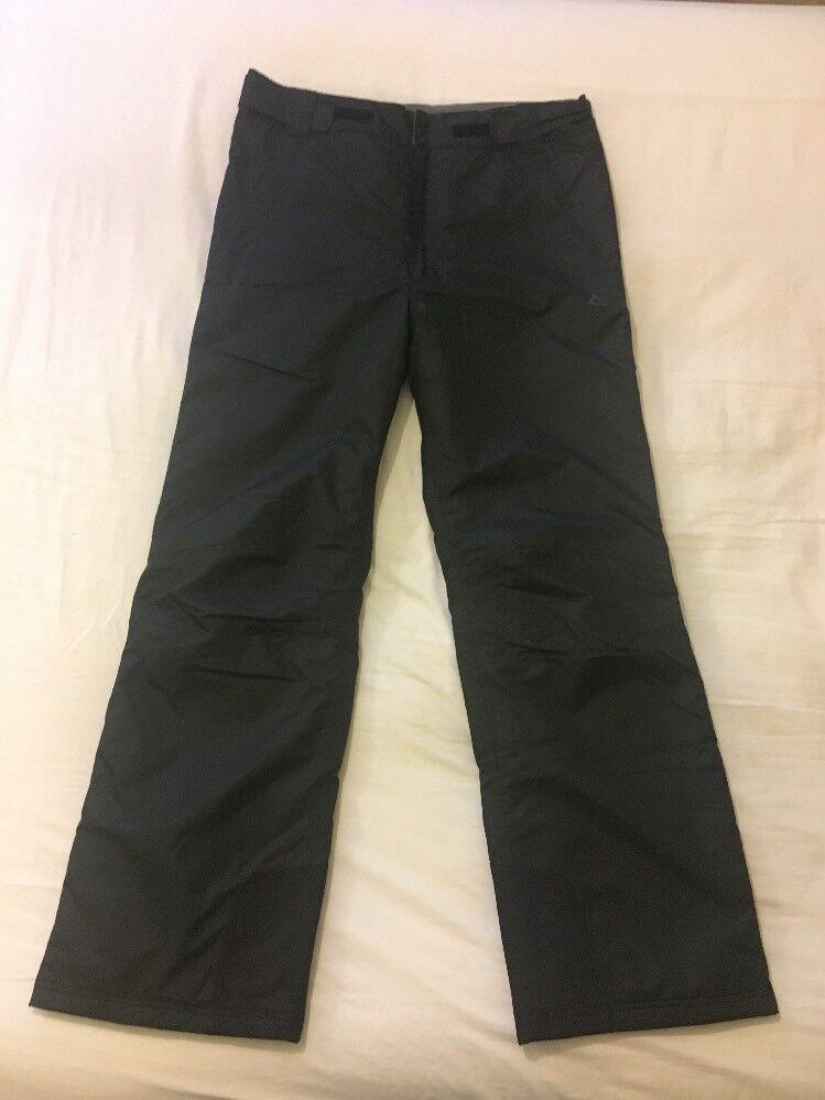 Uomo Nero dare 2b Pantaloni Da Sci Sci Sci Pantaloni Taglia M 554020