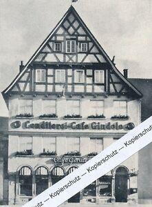 Ulm - Cafe Gindele - um 1955            G 2.9