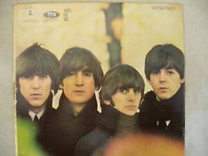 BEATLES-LP-BEATLES-FOR-SALE-stereo-Parlophone-pcs-3062-re-issue