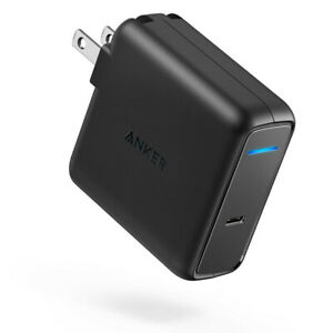 Anker 60W PD Wall Charger Adapter Charging for MacBook Pro Dell iPad-Refurbished