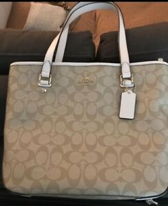 COACH-ZIP-TOP-TOTE-IN-OUTLINE-SIGNATURE-JACQUARD-NEW-WITH-TAGS