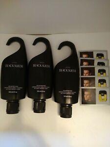 Avon Black Suede Hair & Body Wash Lot Of 5 Shower Gel
